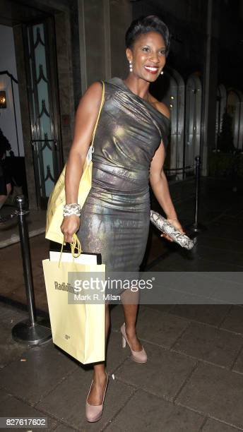 Denise Lewis attends the Radio Times Covers Party at Claridges Hotel on January 29 2013 in London England