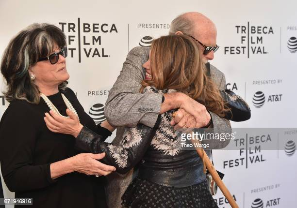 Denise Loder Anthony Loder and Alexandra Dean attend 'Bombshell The Hedy Lamarr Story' Premiere during the 2017 Tribeca Film Festival at SVA Theatre...