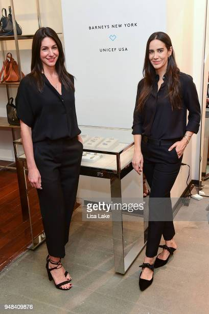 Denise Lomento and Ana Khouri attend Barneys New York Foundation Celebrates UNICEF USA at Barneys New York In Philadelphia hosted by Jennifer Paradis...
