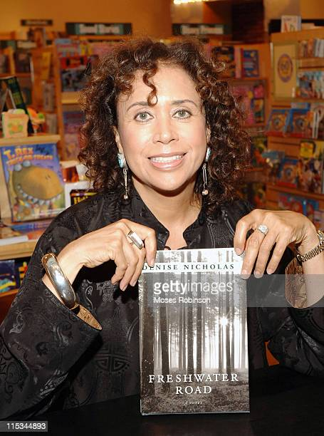Denise Nicholas during Denise Nicholas Signs Her Book Freshwater Road at Barnes Noble in Atlanta October 13 2005 at Barnes Noble in Atlanta Georgia...