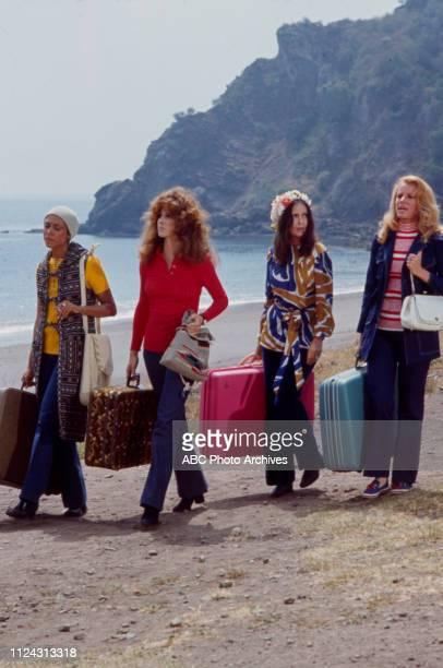 Denise Nicholas, Stefanie Powers, Anjanette Comer, Julie Sommars appearing in the Walt Disney Television via Getty Images tv movie 'Five Desperate...