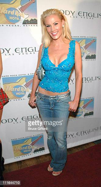 Denise Pernula during Criss Angel and Cindy Margolis Host Party for Kozak The Magician at Body English at the Hard Rock Hotel & Casino in Las Vegas,...