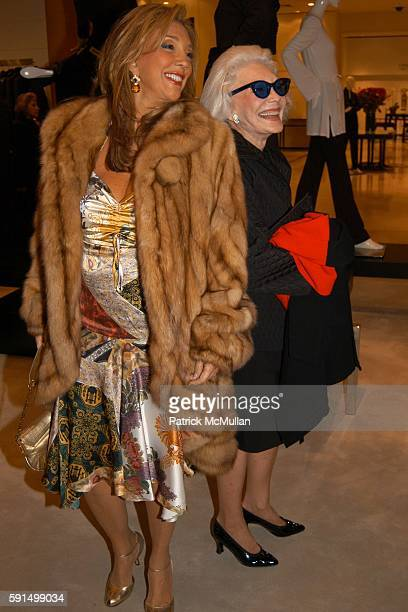 Denise Rich and Anne Slater attend SAKS FIFTH AVENUE Celebrates Launch of STELLE at Saks Fifth Ave on November 17 2005 in New York City