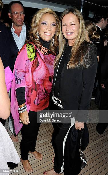 Denise Rich and Eva Cavalli attend as Eva Longoria and Denise Rich host their Cannes Cocktail Evening produced by Total Management and MandA Events...