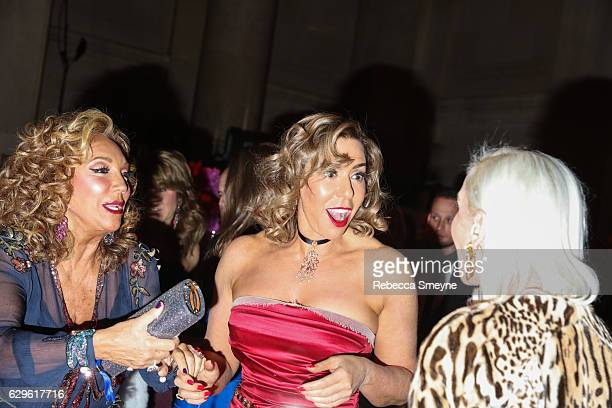 Denise Rich and Heloise Pratt attend the Angel Ball 2016 at Cipriani Wall St on November 21 2016 in New York City