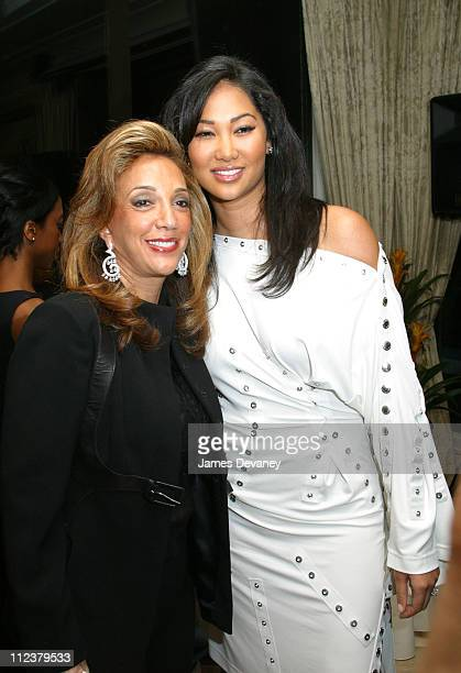 Denise Rich and Kimora Lee Simmons during The Foundation for Ethnic Understanding Honors JayZ and Barry Weiss of Jive Records at Home of Denise Rich...