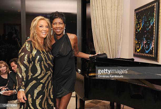 Denise Rich and Natalie Cole attend Total Management's Fashion Week Party with Jade Jagger and Gilt City to Bring Awareness to Gabrielle's Angel...