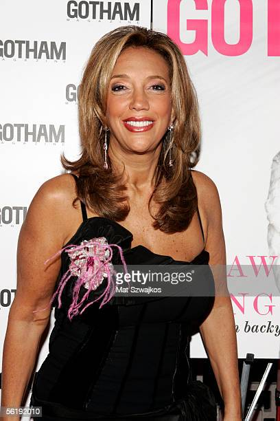 Denise Rich arrives at the listening party for Shawn King's new CD 'In My Own Backyard' hosted by Gotham Magazine at Lotus on November 16 2005 in New...
