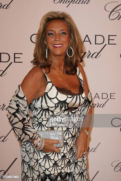 Denise Rich attends at Chopard Belle Du Nuit Dinner during the 62nd International Cannes Film Festival on May 13 2009 in Cannes France