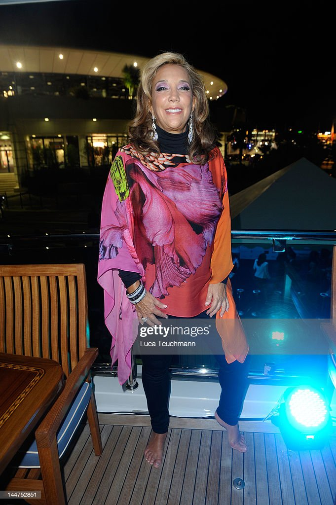 Denise Rich attends Cannes Cocktail Evening, hosted by Eva Longoria and Denise Rich and produced by Total Management and MandA Events on May 18, 2012 in Cannes, France.