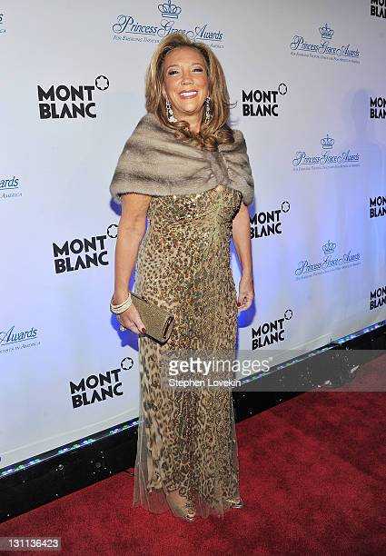 Denise Rich attends Princess Grace Awards Gala at Cipriani 42nd Street on November 1 2011 in New York City