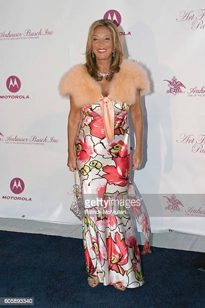 Denise Rich attends Russell and Kimora Lee Simmons and the Rush Philanthropic Arts Foundation Present the 2nd Annual Art for Life Event at MarALago...