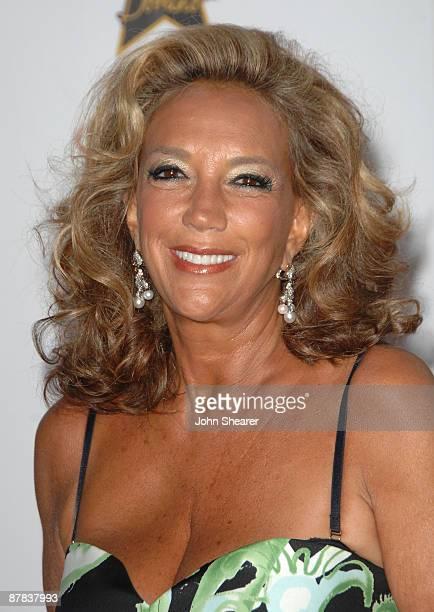 Denise Rich attends the Akvinta Presents 'A Night of Hollywood Domino' at The House at Cannes during the 62nd Annual Cannes Film Festival on May 18...