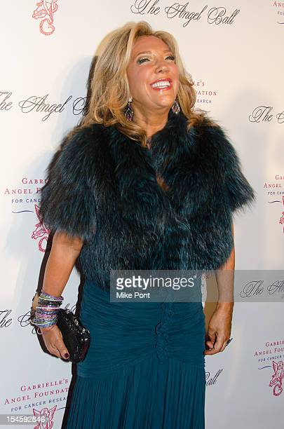 Denise Rich attends the Angel Ball 2012 at Cipriani Wall Street on October 22 2012 in New York City
