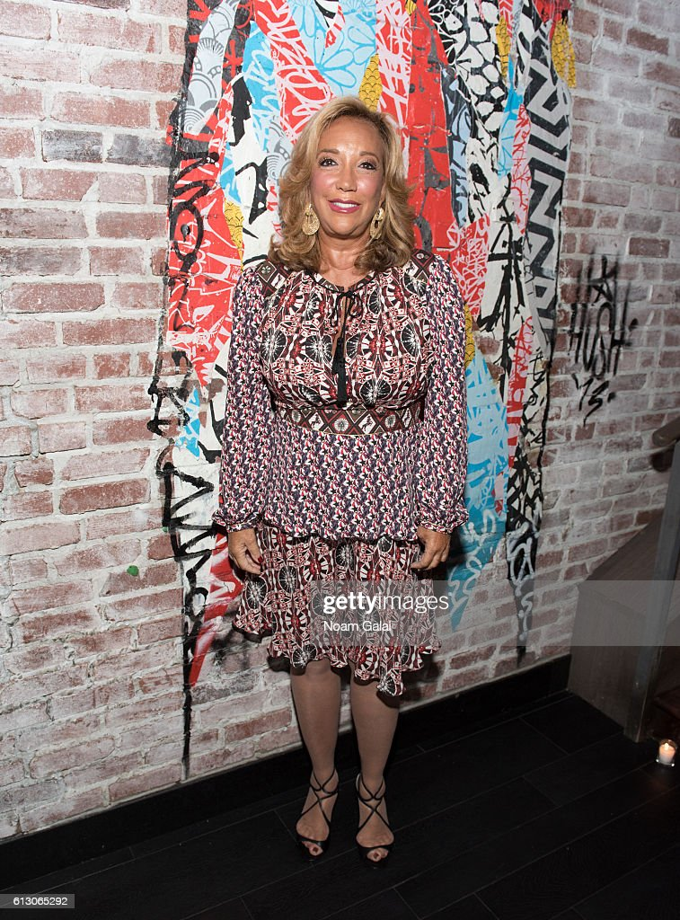 Denise Rich attends The Angel Ball 2016 launch party at TAO Downtown on October 6, 2016 in New York City.