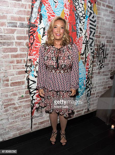 Denise Rich attends The Angel Ball 2016 launch party at TAO Downtown on October 6 2016 in New York City