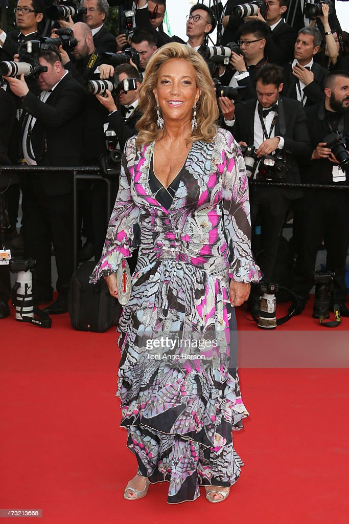 Denise Rich attends the opening ceremony and 'La Tete Haute' ('Standing Tall') premiere during the 68th annual Cannes Film Festival on May 13, 2015 in Cannes, France.