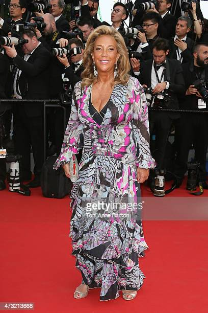 Denise Rich attends the opening ceremony and 'La Tete Haute' premiere during the 68th annual Cannes Film Festival on May 13 2015 in Cannes France