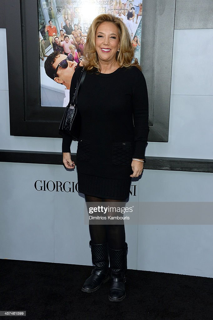 Denise Rich attends the 'The Wolf Of Wall Street' premiere at the Ziegfeld Theatre on December 17, 2013 in New York City.
