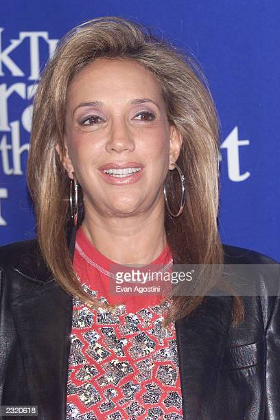Denise Rich backstage at 'KTU's Miracle On 34th Street' holiday concert at Madison Square Garden in New York City. . Photo: Evan Agostini/ImageDirect