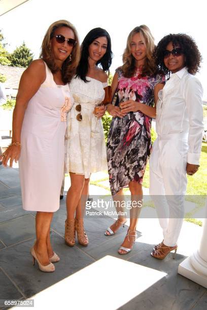 Denise Rich Dara Tomanovich Charlotte Bonstrom and June Haynes attend Valentino Luncheon and Special Presentation of the Fall/Winter 2009 Collection...