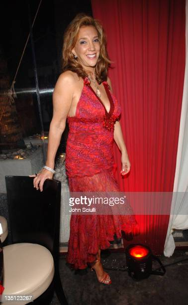 Denise Rich during 2005 Cannes Film Festival Jana Water at Ivana Trump Party Inside in Cannes France