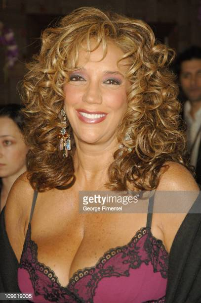 Denise Rich during 2006 Clive Davis PreGRAMMY Awards Party Red Carpet at Beverly Hilton in Beverly Hills California United States