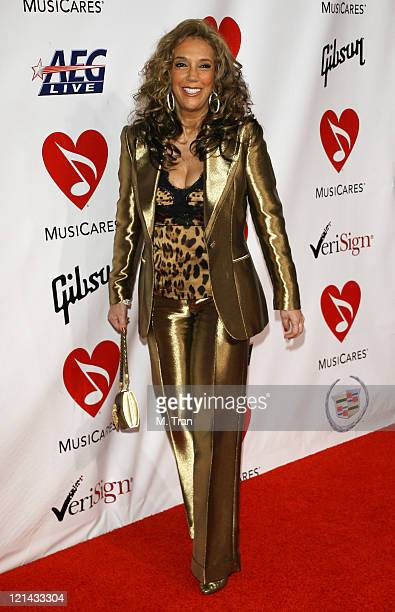 Denise Rich during 2007 MusiCares Person Of The Year Honoring Don Henley Arrivals at Los Angeles Convention Center in Los Angeles California United...
