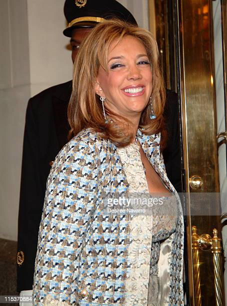 Denise Rich during Donald Trump Hosts the Opening Night Reception of 'Veranda New York's Best at Trump Park Avenue The Ultimate Showcase Penthouse'...