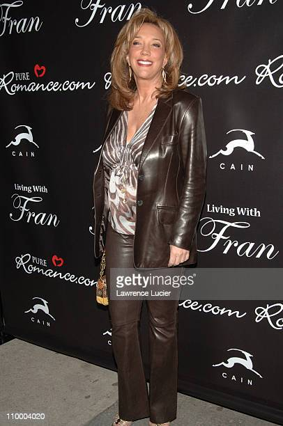 Denise Rich during Fran Drescher Celebrates The Premiere of Living With Fran Sponsored by Pureromancecom at Cain in New York City New York United...