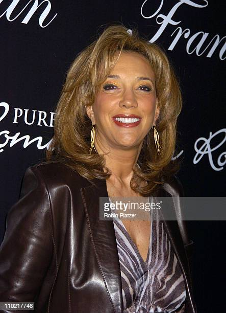 Denise Rich during 'Living with Fran' Premiere Party Sponsored by PureRomancecom at Cain Lounge in New York City New York United States
