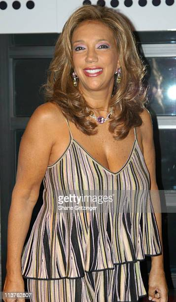 Denise Rich during 'Welcome Back to New York Joan Collins' Cocktail Reception Hosted by Andy Unanue at AER in New York City New York United States