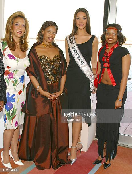 Denise Rich Her Royal Highness Queen LaMbikiza Amelia Vega and guest