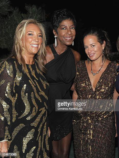 Denise Rich Natalie Cole and Jade Jagger attend Total Management's Fashion Week Party with Jade Jagger and Gilt City to Bring Awareness to...