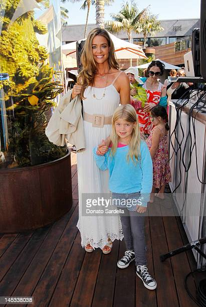 Denise Richards and daughter Lola Sheen attend alice olivia By Stacey Bendet Hosts Look Up Yoga At The Malibu Lumberyard on May 26 2012 in Malibu...