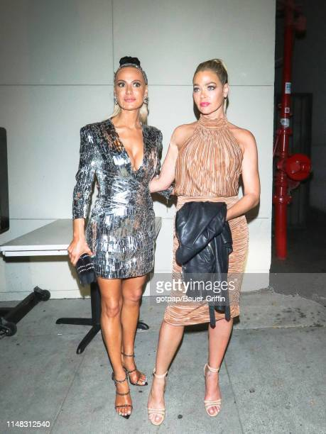Denise Richards and Dorit Kemsley are seen on June 05 2019 in Los Angeles California