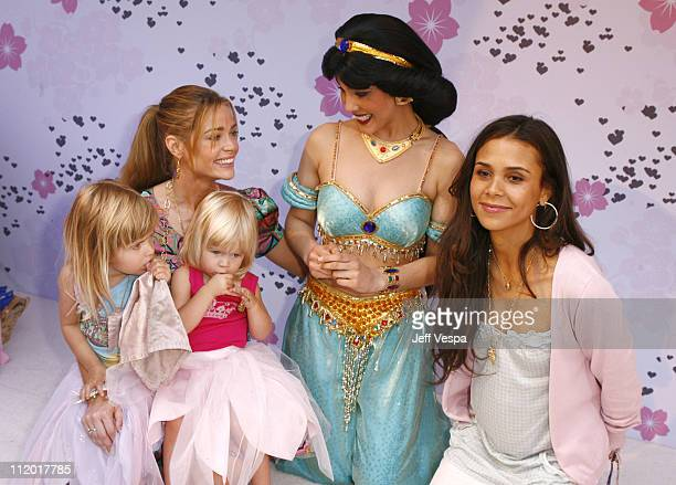 Denise Richards and her daughters and Kidada Jones