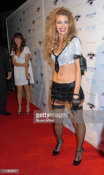 Denise Richards and Robin Antin during Denise Richards Celebrates OneYear Anniversary of Pussycat Dolls Lounge at PURE Nightclub Arrivals at Pure...