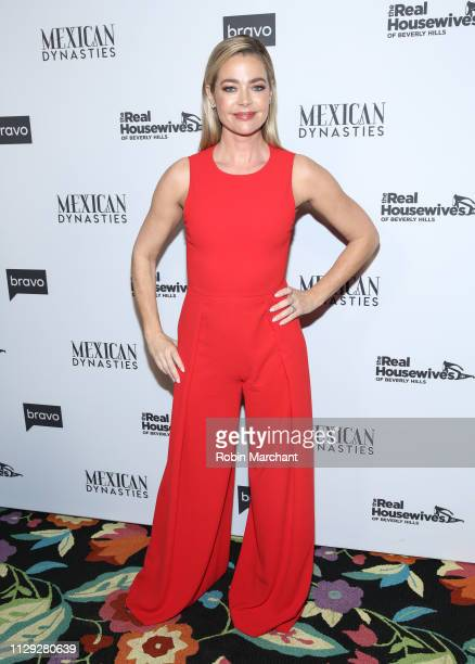 """Denise Richards attends Bravo's Premiere Party for """"The Real Housewives of Beverly Hills"""" Season 9 And """"Mexican Dynasties"""" at Gracias Madre on..."""