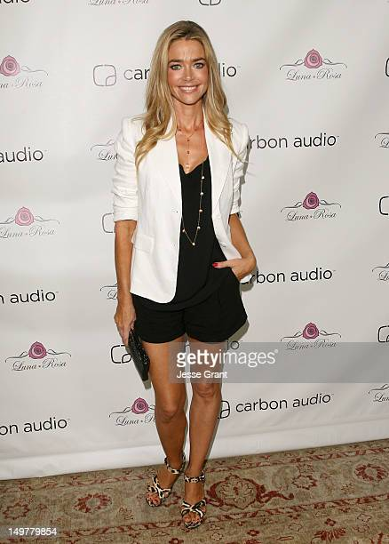 Denise Richards attends Carbon Audio's Zooka Launch Party held on August 3 2012 in West Hollywood California
