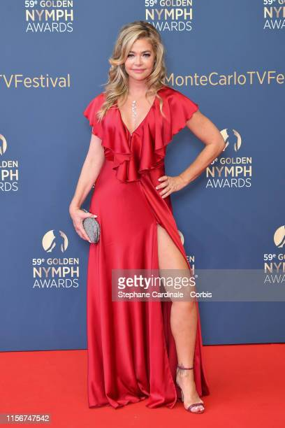 Denise Richards attends the closing ceremony of the 59th Monte Carlo TV Festival on June 18 2019 in MonteCarlo Monaco