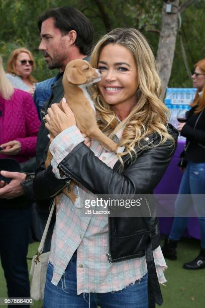 Denise Richards attends the Eastwood Ranch Foundation's Wags Whiskers and Wine Event on May 12 2018 in Malibu California