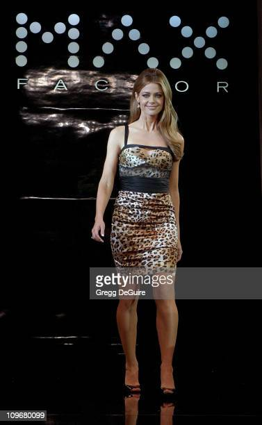 Denise Richards during Carmen Electra Hosts Celebrity Studded Fashion Show Benefiting Clothes Off Our Back Charity at Social Hollywood in Hollywood...