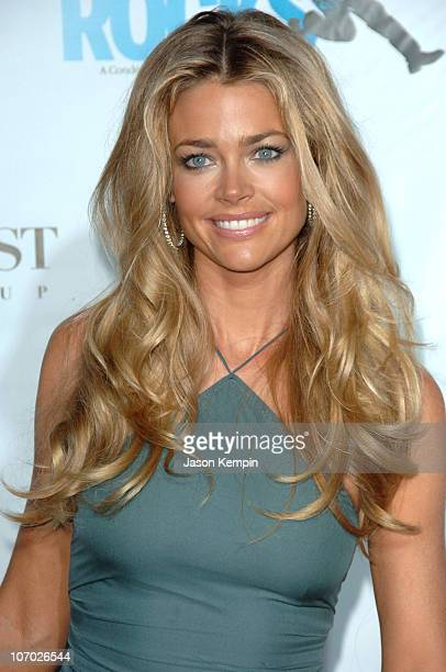 Denise Richards during Conde Nast Media Group Kicks off New York Fall Fashion Week with 3rd Annual Fashion Rocks Concert Arrivals at Radio City Music...
