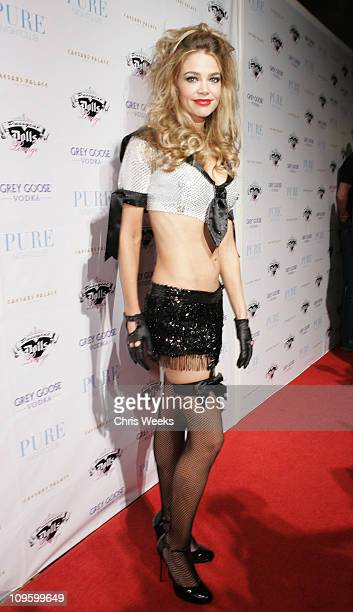 Denise Richards during Denise Richards Celebrates OneYear Anniversary of the Pussycat Dolls Lounge at PURE Nightclub Red Carpet at Pure Nightclub in...
