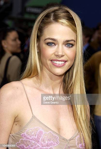 Denise Richards during 'Undercover Brother' Premiere at Universal Citywalk in Universal City California United States