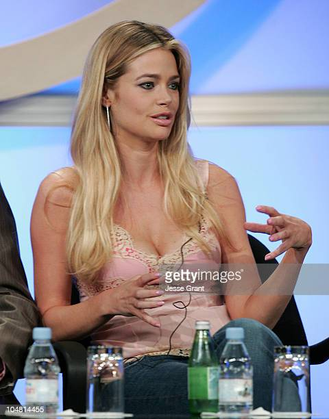 Denise Richards during UPN 2005 TCA Day in Los Angeles California United States