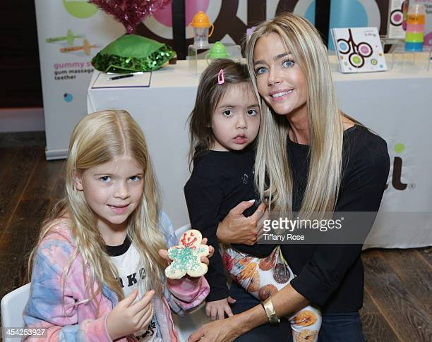 Denise Richards Eloise Richards and Lola Sheen attend the 3rd Annual Santa's Secret Workshop Benefiting LA Family Housing at Andaz Hotel on December...