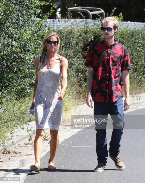 Denise Richards is seen on July 24 2014 in Los Angeles California