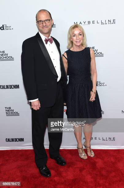 Denise Seegal and Mark Gibbel attend the 69th Annual Parsons Benefit at Pier 60 on May 22 2017 in New York City